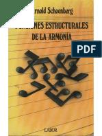 Schoenberg Funciones Estructurales de La Armonia