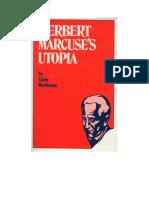Marcuse's Utopia