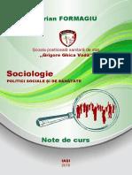 Sociologie, politici sociale si de sanatate. Suport de curs.pdf
