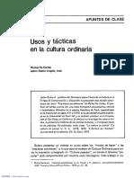 DE CERTEAU Usos y tácticas en la cultura ordinaria.pdf