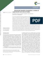 Cardiovascular Benefits of Probiotics