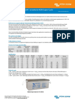 Datasheet AGM Super Cycle Battery FR