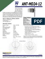 ANTMD2412 Data Sheet