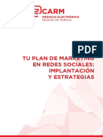 Tu Plan de Marketing en Redes Sociales. Implantacion y Estrategias - CECARM