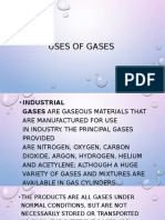 Uses of Gases powerpoint
