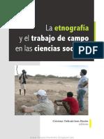 La Etnografía y El Trabajo de Campo en Las Ciencias Sociales