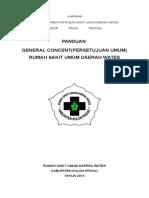 PANDUAN General Concent