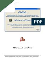 Manuale utente ClaRaf