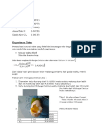 Experimen Telur