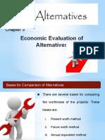 Chapter 3 - Economic Evaluation of Alternatives