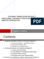 Translation Studies Chapter 4, 5 and 6 - Copy