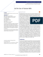 Breastfeeding and the Use of Human Milk. 2012