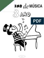 3_ Año Cuaderno de Música (36 Hojas)