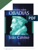 Comentário Sobre Obadias - João Calvino