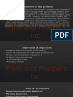Pride and Prospers Inc