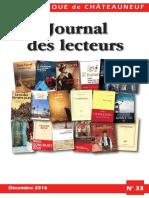 Journal des Lecteurs 33