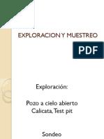 1. Exploracion y Muestreo