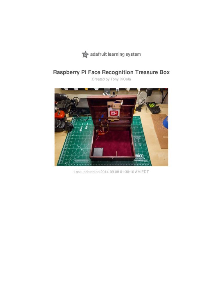 raspberry-pi-face-recognition-treasure-box pdf | Raspberry Pi