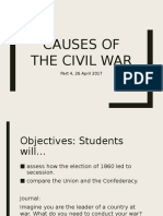Causes of the Civil War 4