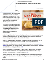 Top 5 Maca Root Benefits and Nutrition - Draxe.com