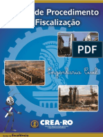 Manual de Fiscalizaçao Crea Ro Engenharia Civil
