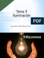 Tema 5 Iluminacion