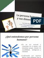 La Persona Humana y sus Dimensiones
