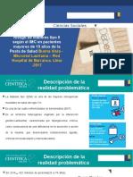 Riesgo de Diabetes Tipo II Según El IMC en Pacientes Mayores de 19 Años de La Posta de Salud Buena Vista - Microred Lauriama – Red Hospital de Barranca. Lima -2017