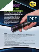 Spectroline OLX-365 Series OPTI-LUX 365 Brochure1