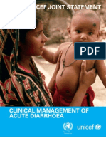 Child Health in India WHO UNICEF Statement Diarrhoea