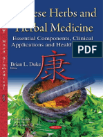 Chinese Herbs and Herbal Medicine Essential Components, Clinical Applications and Health Benefits (Public Health in the 21st Century) 1st Edition 2015 {PRG}