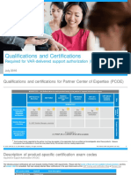 PCOE Product Certifications V15