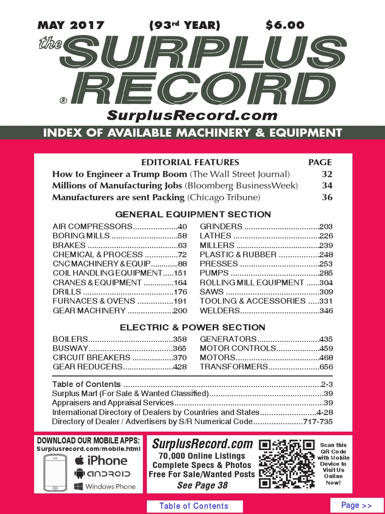May 2017 surplus record machinery equipment directory numerical may 2017 surplus record machinery equipment directory numerical control gas compressor publicscrutiny Gallery