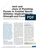 Assessment and Contributors of Punching Forces in.1