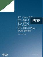BTL EKG 08 Manual de Usuario