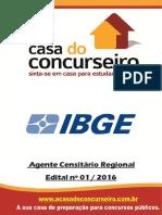 Apostila Ibge 2016 Agente Censitario Regional