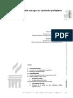 DERECHO COMERCIAL I (PARTE GENERAL)  - Artículo, La escisión sus aspectos societarios y tributarios(1)