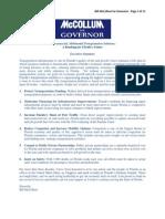 Transportation -- Transportation & Infrastructure - Bill McCollum for Governor
