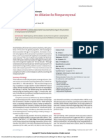Efficacy of Catheter Ablation for Nonparoxysmal Atrial Fibrillation