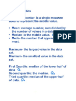 algebra ii unit 7 statistics