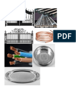 Metallic objects.doc