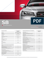 s8 Spec Guide