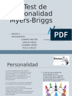 Test Myers Briggs