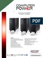 Computer Power Vt 6 y 10 Kva