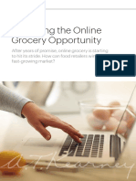 Capturing the Online Grocery Opportunity