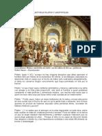 Lecturas Platon y Aristoteles