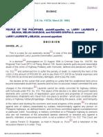 People vs. Laurente _ 116734 _ March 29, 1996 _ Davide, Jr., J