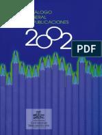 Catalogo Publicaciones 2002