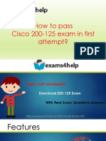 Get 200-125 PDF Dumps & 200-125 Exam Questions Answers