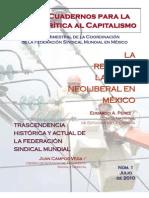 Cuadernos para la Crítica 1 La reforma laboral neoliberal- REVISTA FSM MEX